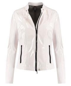 Damen Jacke in Lackoptik