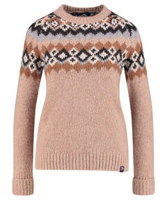 "Damen Pullover ""Savanna Yoke Jacquard Knit"""