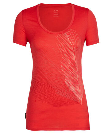 """Icebreaker - Damen Outdoor-T-Shirt """"Scoop Plume"""""""