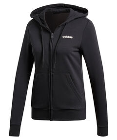 "Damen Sweatjacke mit Kapuze ""Essentials Solid"""