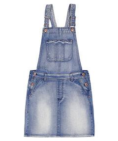 Mädchen Jeanskleid mit Latz