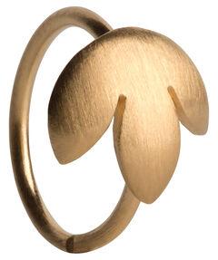 """Damen Ring """"Twist Leaf"""""""