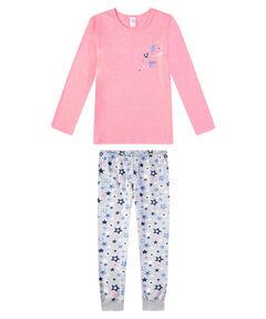 Mädchen Schlafanzug Lang