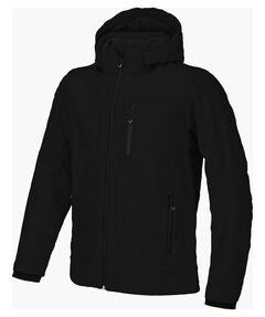 Herren Softshelljacke mit Kapuze Men Softshell Jacket Zip Hood