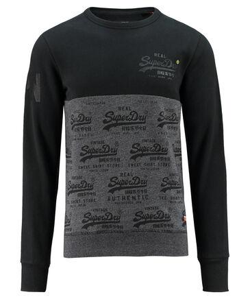 """Superdry - Herren Sweatshirt """"Vintage Logo Neon Crew"""""""