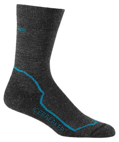 "Damen Socken ""Hike+ Light Crew"" Jet Heather/Cruise/Black"