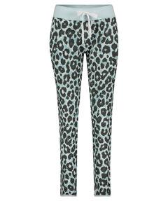 """Damen Sweathose """"Fleece Trousers Ocean Leopard"""""""