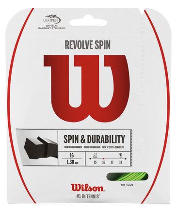 "Wilson - Tennissaite / Saitenrolle ""Revolve Spin 16 Green 1,3 mm 12,2 m"""