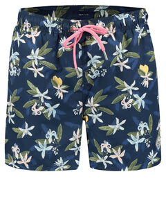 "Herren Badeshorts ""Lemon Flower"" Classic Fit"
