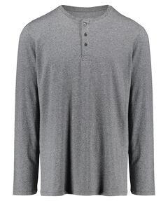 Herren Pyjama Shirt Langarm