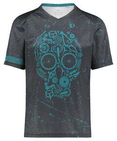 "Herren Mountainbike-Shirt ""MTB LTD Launch Jersey"" Kurzarm"