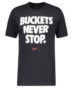 """Herren T-Shirt """"NBA Dri-FIT Buckets Never Stop Me"""""""