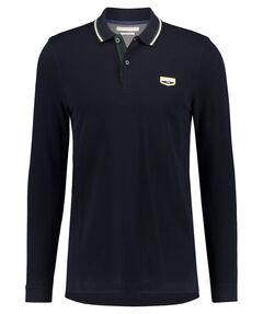 Herren Poloshirt Regular Fit Langarm