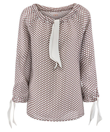 "IVI Collection - Damen Bluse ""Minimal"" Langarm"
