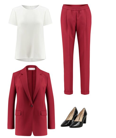 Outfit - Red Is A Statement