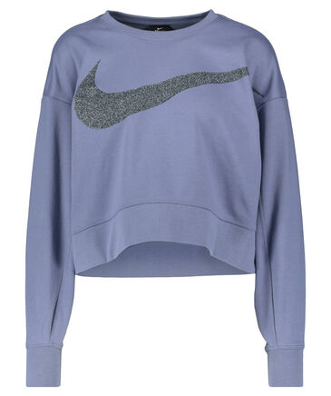 "Nike - Damen Sweatshirt ""Nike Dri-FIT Get Fit  Women's Fleece Sparkle Training Top"""
