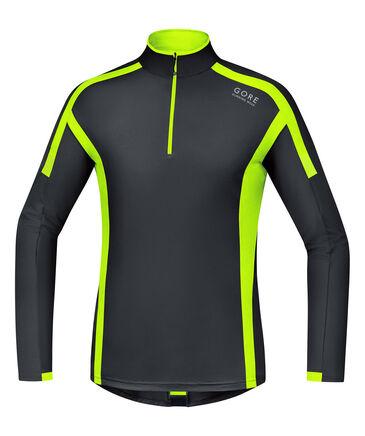 "GORE® Wear - Herren Laufshirt ""Air Zip Shirt Lang"" Langarm"