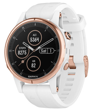 "Garmin - Damen GPS-Multifunktionsuhr ""fenix 5S Plus Saphire"""