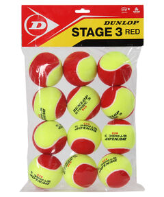 "Tennisbälle ""Stage 3 Red"" 12er Set"