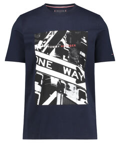 "Herren T-Shirt ""One Way Photo Print Relax Tee"""