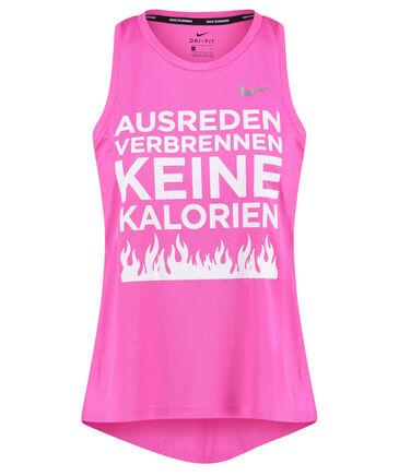 """Nike - Damen Laufoberteil """"Ausreden verbrennen keine Kalorien"""""""