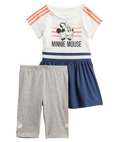 "Mädchen Trainingsanzug ""Minnie Mouse Summer"" Set"