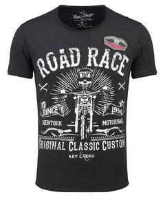 "Herren T-Shirt ""MT Motorbike Round"""