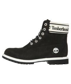 """Damen Boots """"Premium 6in Waterproof Boot Black Nubuck Logo"""""""