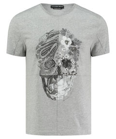"Herren T-Shirt ""Blumen Scull"""