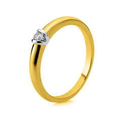 Damen Diamantring - Solitaire