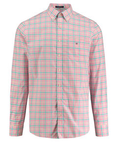"Herren Hemd ""Broadcloth 3-Color Gingham"" Regular Fit Langarm"