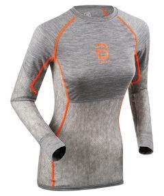 "Damen Langlaufshirt ""Airnet Wool Long Sleeve"" aus Wolle Langarm"
