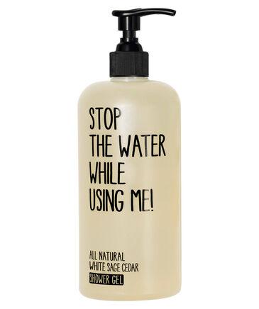"""Stop the Water - entspr. 19,90 Euro / 500 ml - Inhalt: 500 ml Shower Gel """"White Sage Cedar"""""""