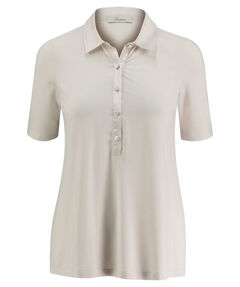 Damen Poloshirt Loose-Fit Kurzarm