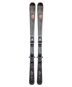 "Damen Slalomskier ""Burning Luv 74"" inkl. Bindung ""Marker ER3 10"""