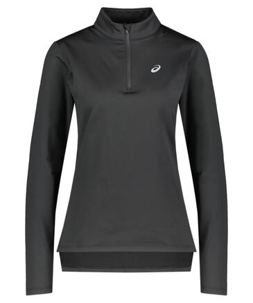 "Asics - Damen Running Sweatshirt ""Silver LS 1/2 Zip Winter Top"" Langarm"
