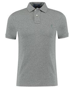 Herren Poloshirt Slim Fit Kurzarm