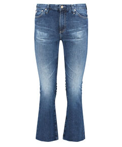 "Damen Jeans ""The Jodi Crop"" High Rise Slim Flare Cropped"