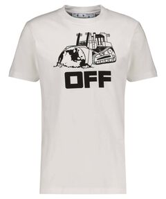 "Herren T-Shirt ""World Caterpilla"" Kurzarm Slim FIt"