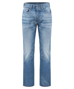 "Herren Jeans ""3301 Loose"" Fleck Denim Medium Aged"