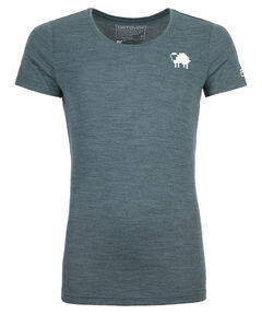 "Damen Shirt Kurzarm ""185 Merino Pixel Sheep"""