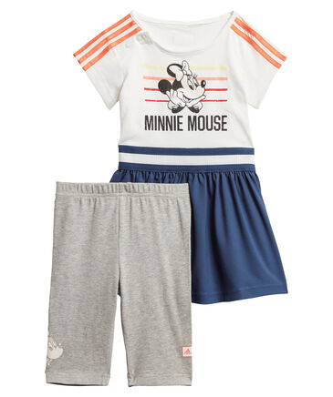 "adidas Performance - Mädchen Trainingsanzug ""Minnie Mouse Summer"" Set"