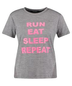 """Damen Running Shirt Kurzarm """"Run, eat, sleep, repeat WMNS Miler"""""""