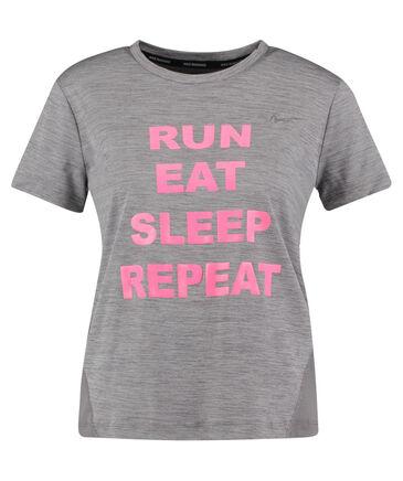 "Nike - Damen Running Shirt Kurzarm ""Run, eat, sleep, repeat WMNS Miler"""