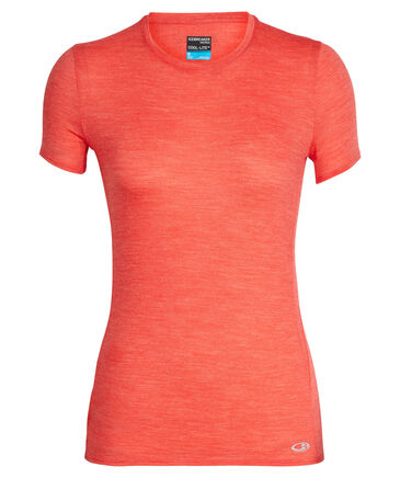 "Icebreaker - Damen Outdoor-Shirt ""Cool-Lite™ Amplify Short Sleeve Low Crewe"" Kurzarm"