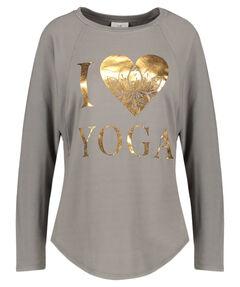Damen Yoga-Sweater Langarm