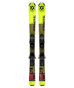 """Kinder Skier """"Racetiger JR Yellow+4.5vMotion JR."""