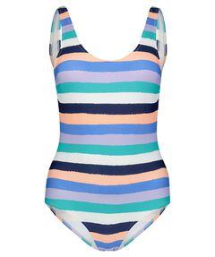 "Damen Badeanzug ""Big Stripes Basic Swimsuit"""