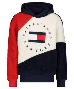 "Kinder Sweatshirt ""Colourblock Teddy"" mit Kapuze"