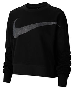 "Damen Sweatshirt ""Nike Dri-FIT Get Fit  Women's Fleece Sparkle Training Top"""